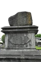Stone on which the ill-fated Treaty of Limerick was signed