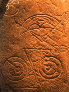 Pict symbols from the 600's or 700's.