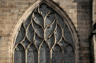 Window tracery from St. Giles' Cathedral