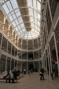 Interior, National Museum of Scotland