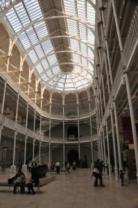 Interior, National Museum of Scotland