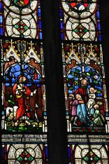 Detail from the Kirwin Memorial Window