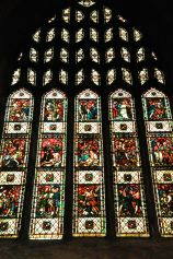 Beautiful window, St. Mary's Cathedral