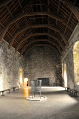 "The Great Hall, with central ""fireplace"""