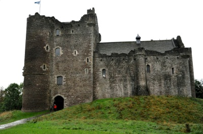 """The Duone Castle """"Lord's tower"""" (and entrance)"""