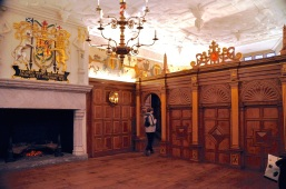 Royal Palace Interior, Laich Hall, created in present form in 1617