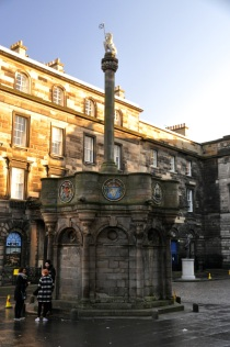 Mercat Cross, originally 1300's