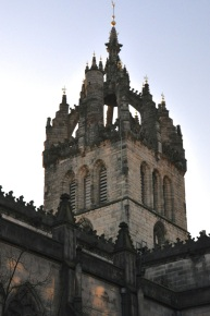 St. Giles Cathedral's crown steeple