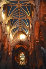 Interior of St. Giles Cathedral, nave
