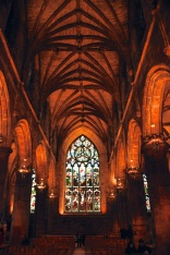 Interior of St. Giles Cathedral, nave continuation