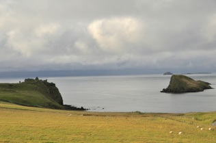 Duntulm Castle ruins near the tip of the Trotternish Peninsula