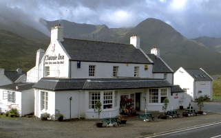 Cluanie Inn, picture from their brochure