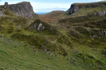 Jumbled terrain