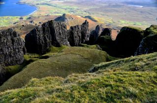 "Quiraing - ""a pillared enclosure"""