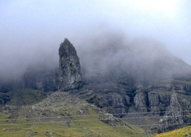 The Old Man of Storr, 160 ft high