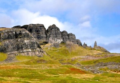 Storr, and the Old Man - on a sunny day