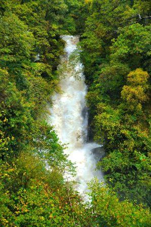 """The """"Black Spout"""" waterfall"""