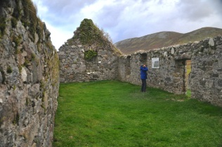 The ruins of the church Cill Chriosd