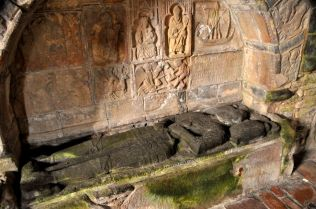 Tomb of Alasdair MacLeod, about 1545