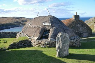 Cottage from the Gearrannan Blackhouse Village