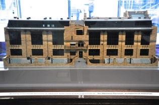 Model of the Glasgow School of Art