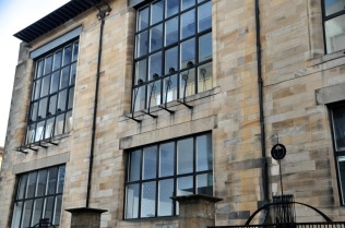 Windows of the Glasgow School of Art