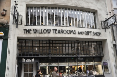 Mackintosh's Willow Tea Rooms, today