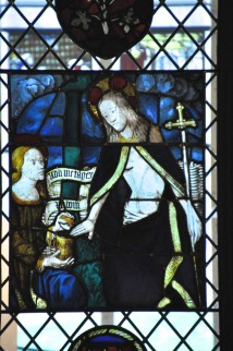 Medieval stained glass from the Burrell Collection