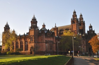 The Kelvingrove Art Gallery and Museum, different angle