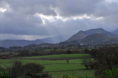 Newlands Valley, from our B&B