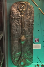 The Witham Shield, a 4th century decorative bronze covering for a wood backing