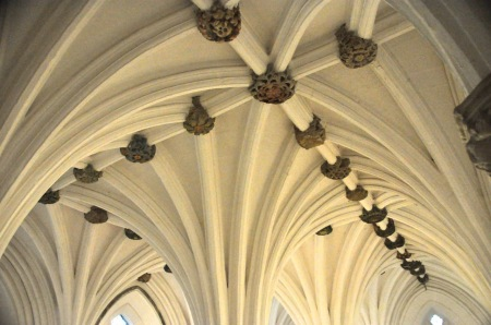 Ceiling of Blackadder's Aisle