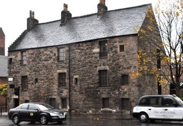Provand's Lordship, near the Glasgow Cathedral
