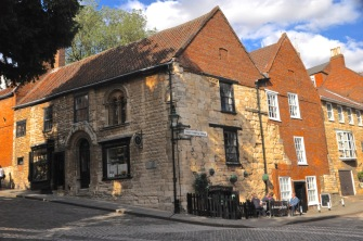 The Norman House from the side