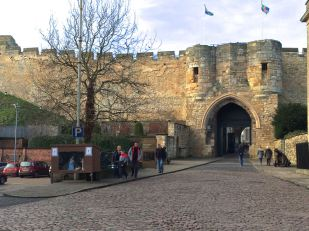 Gate to Lincoln Castle