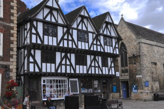 The Leigh-Pemberton House, a merchant's house from 1543