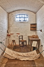 Jail cell in the women's prison, picture taken from the internet