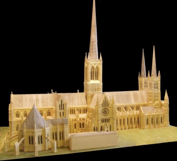 Cathedral Model, 1300's - 1500's
