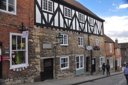 The Harding House, 1400 & 1500's, on Steep Hill