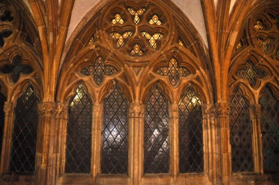 Corridor to the cloister