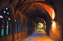 Lincoln Cathedral cloister