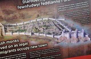 Representation of Conwy in the 1280's
