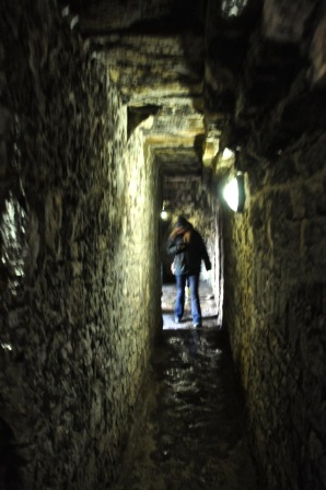 Passageway within the inner wall