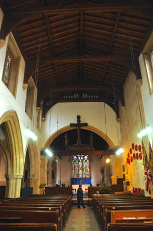 St. Edward's church nave