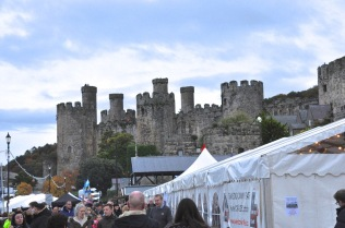 The city festival in the shadow of Caernarfon Castle