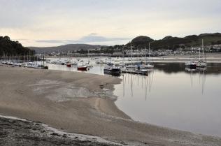 Caernarfon harbor