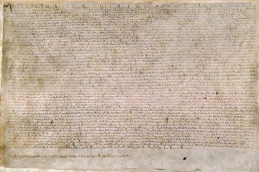 The Magna Carta of 1215