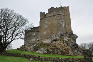 Roch Castle, our lodgings