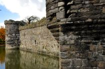 Beaumaris Castle outer walls