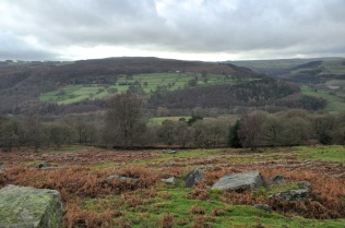 Scenery of the Peak District
